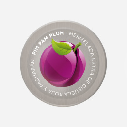 Mermelada ciruela Pin Pam Plum Young and Beautifood