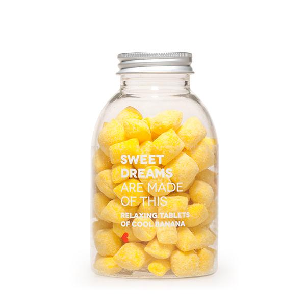Caramelos blandos sabor plátano Sweet Dreams 150 g